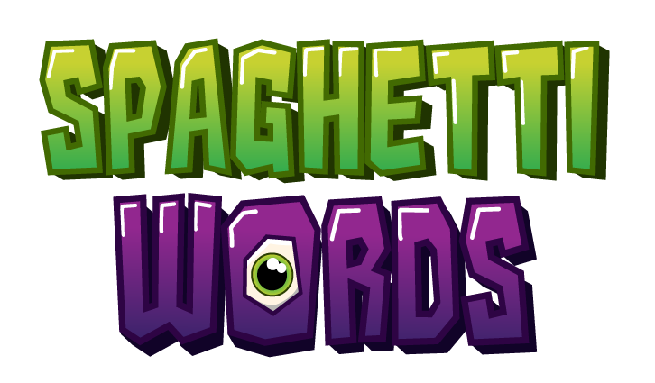 spaguetti words LOGO