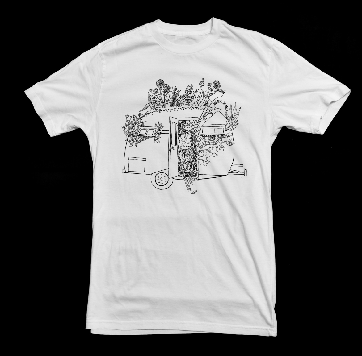 Nomad gardens t-shirt
